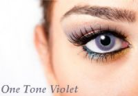 One Tone Violet Contacts - 90 Day